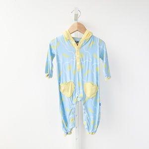 Kickee Pants Baby Shell-Print Onesie